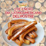 3 de enero, día latinoamericano del postre