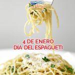 4 de enero, día del espagueti